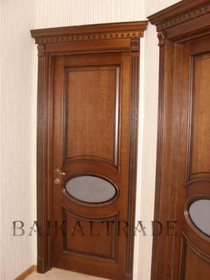 Двери из массива дуба - Кузня
