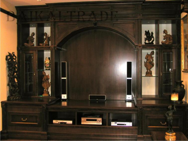 Wood style - эксклюзивная элитная мебель на заказ из массива.